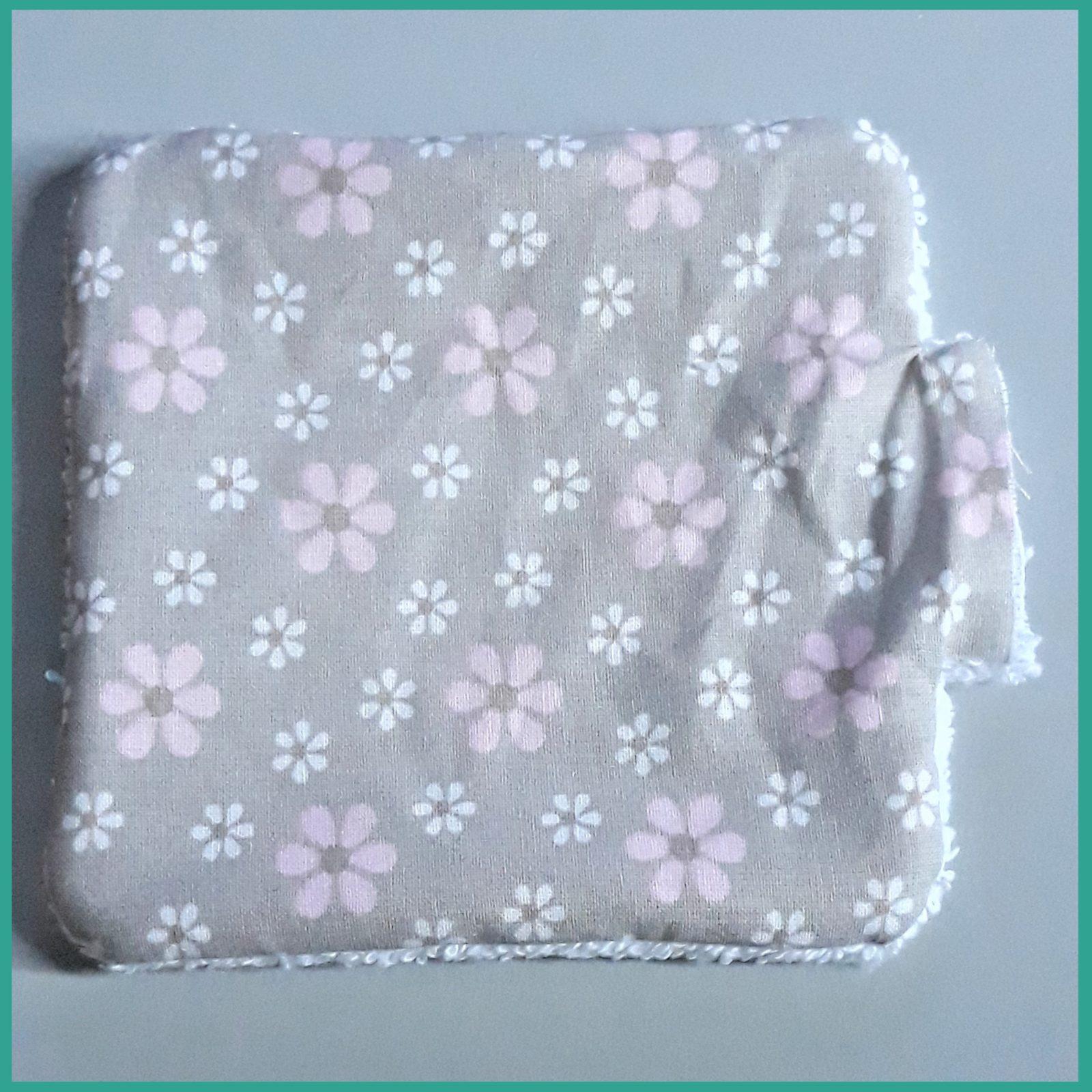 Tutoriel couture gratuit - Les lingettes lavable - La P'tite Main