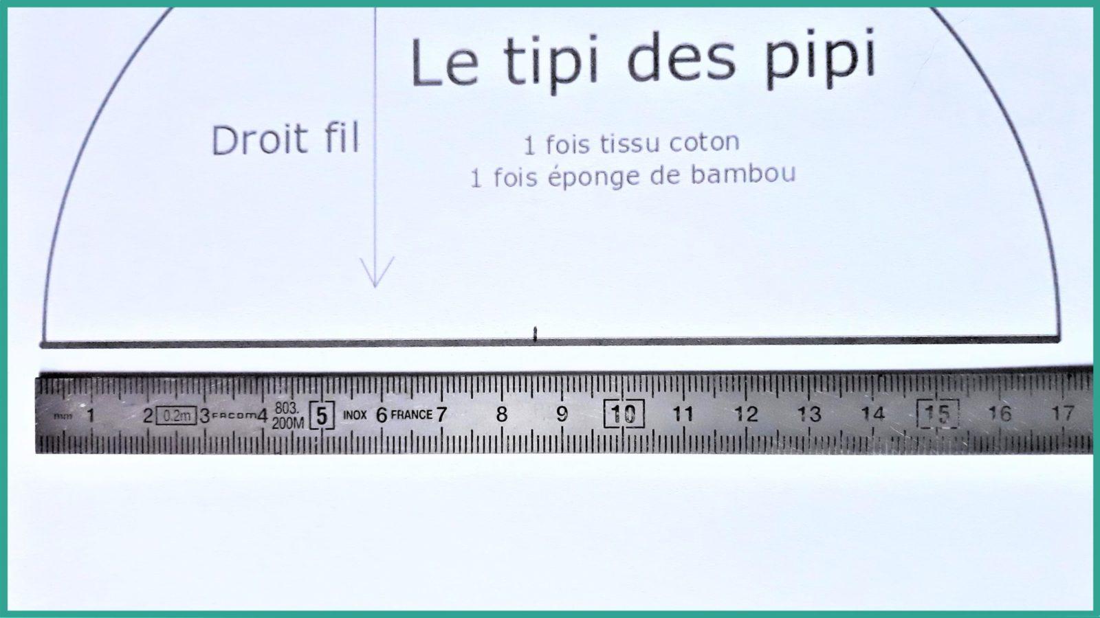 Tutoriel couture gratuit - Le tipi des pipi - La P'tite Main