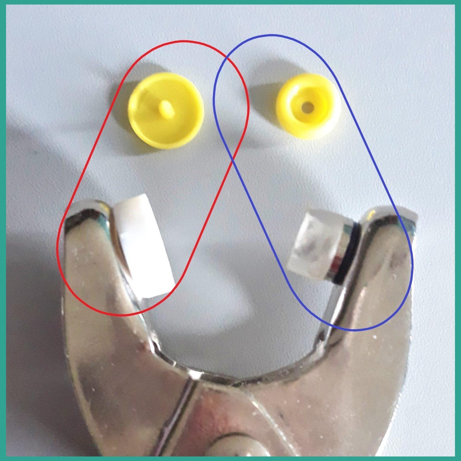 Comment poser des boutons pression snaps avec la pince Prym ?