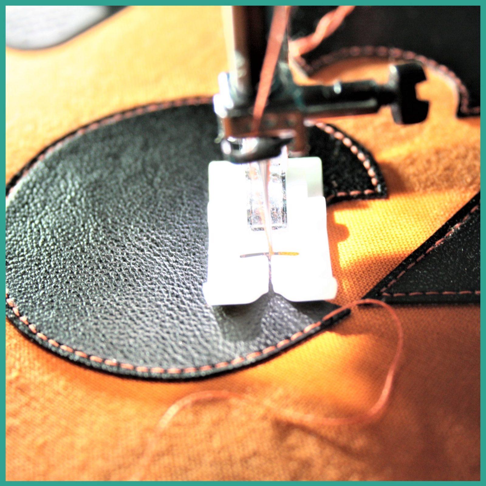 Réaliser un appliqué en simili-cuir