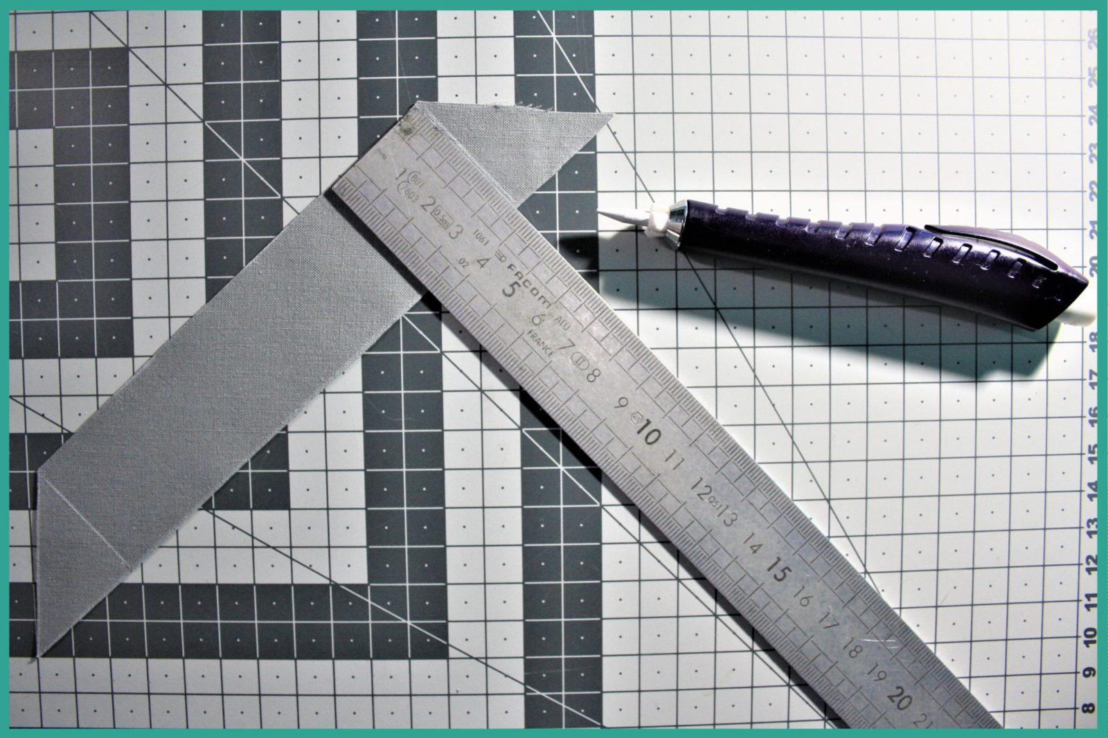 Réaliser un biais en tissu