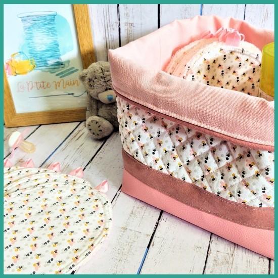 Patron couture gratuit - La jolie panière de bébé - La P'tite Main