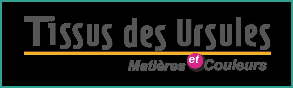 Logo Tissus des Ursules