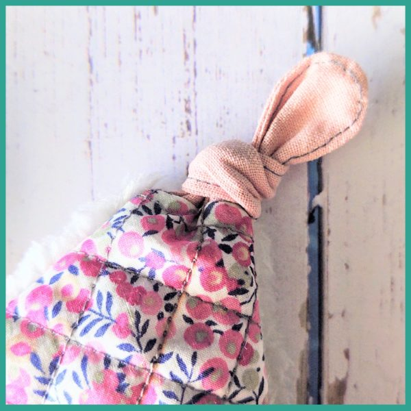 Patron couture - Le doudou Crispy le Lapin