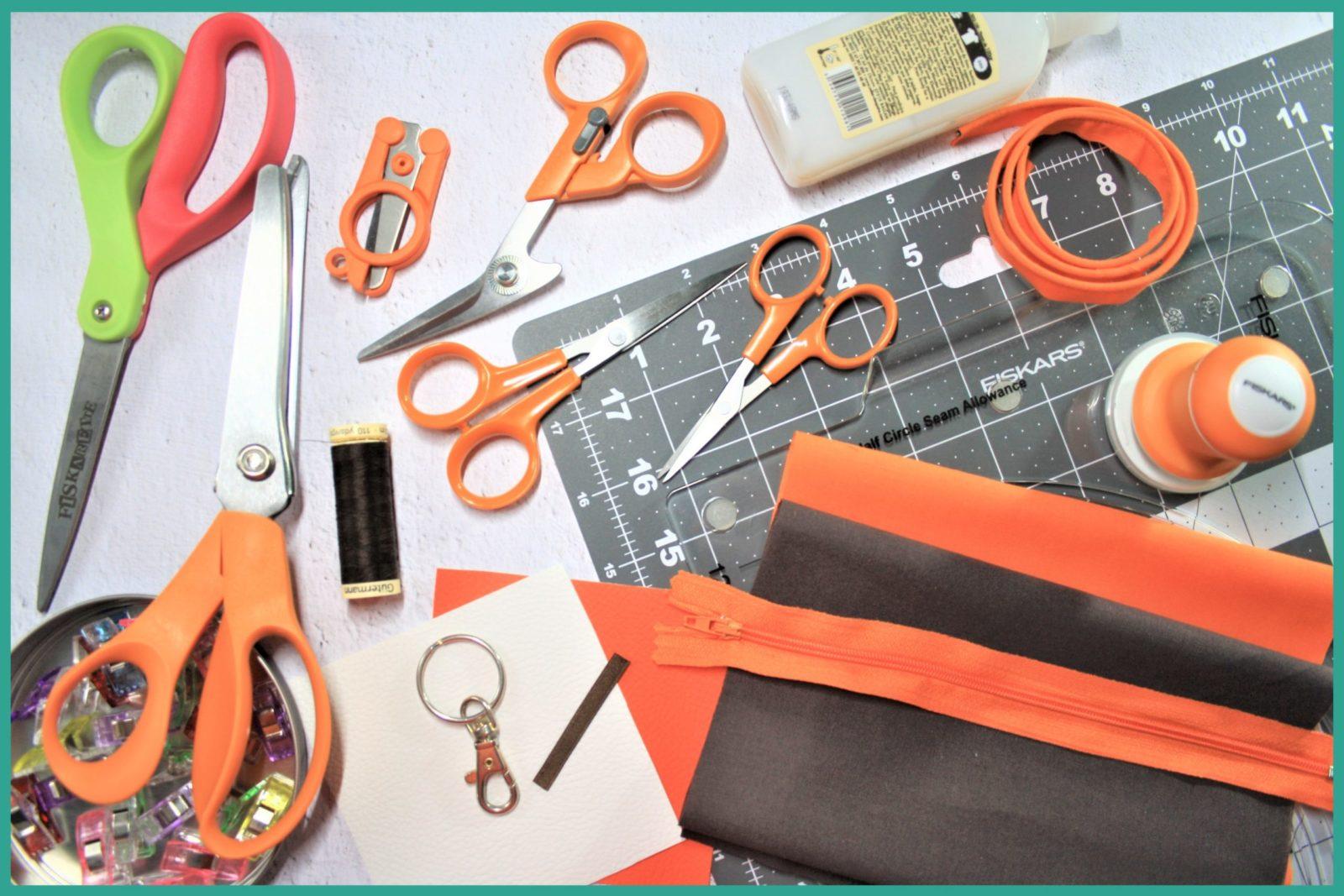 Tutoriel couture gratuit - Le porte-monnaie Foxy