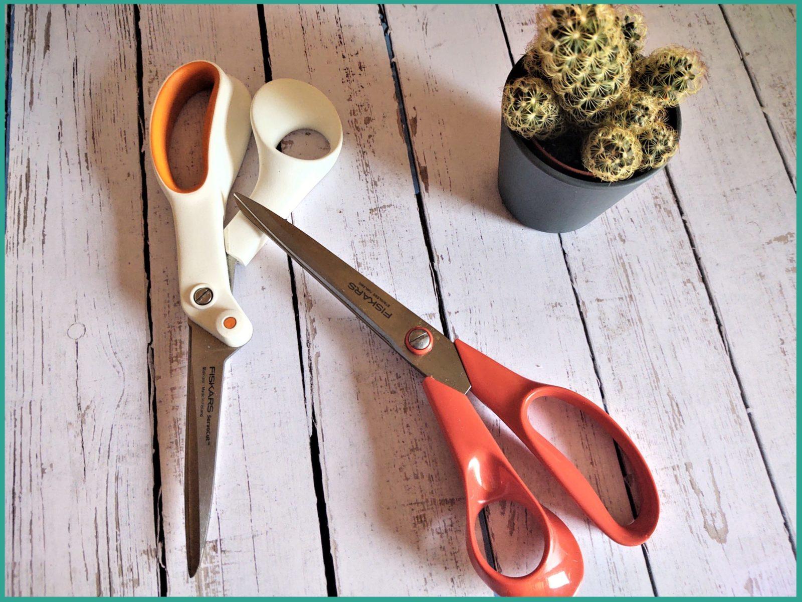matériel utilisé - Fiskars - Tutoriel de la pochette créative - La P'tite Main